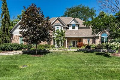 Fishers Single Family Home For Sale: 10327 Treeline Court