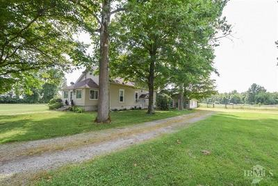 Delaware County Single Family Home For Sale: 7321 North Nebo Road