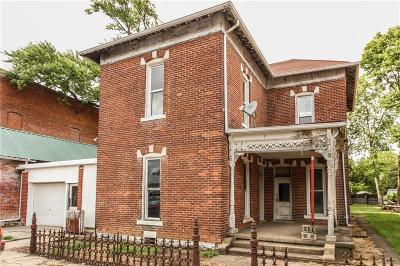 Fairland Single Family Home For Sale: 106 West Washington Street