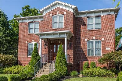 Zionsville Single Family Home For Sale: 6680 Regents Park Drive