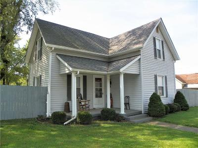 Greencastle IN Single Family Home For Sale: $188,000