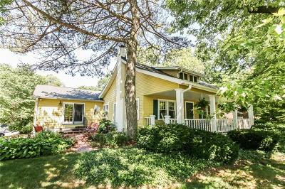 Zionsville Single Family Home Sold: 610 Mulberry Street