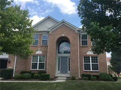 Fishers Single Family Home For Sale: 11835 Kittery Drive