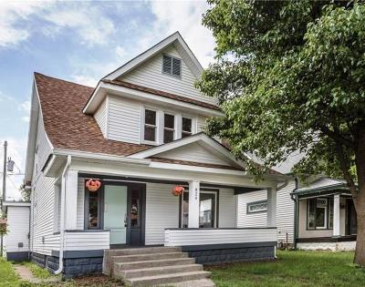 Indianapolis Single Family Home For Sale: 824 Eastern Avenue