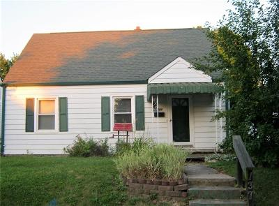 Beech Grove Single Family Home For Sale: 137 South 7th Avenue