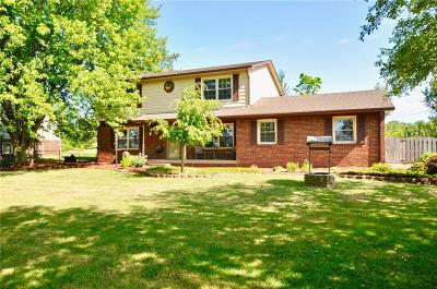 Indianapolis Single Family Home For Sale: 10610 Pentecost Road
