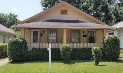 Indianapolis Single Family Home For Sale: 417 Bernard Avenue