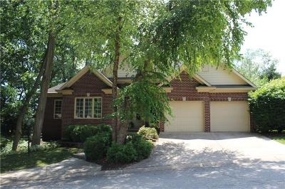 Indianapolis Single Family Home For Sale: 8107 Woodcreek Drive