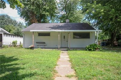 Indianapolis Single Family Home For Sale: 3027 Mooresville Road