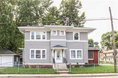 Indianapolis Single Family Home For Sale: 801 East 46th Street