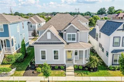 Zionsville Single Family Home For Sale: 7629 Beekman Terrace