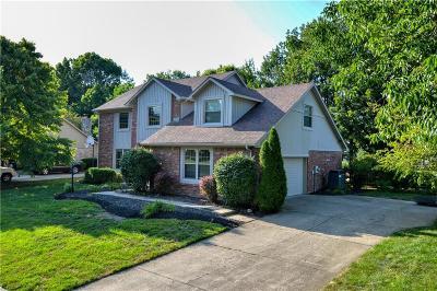 Carmel Single Family Home For Sale: 868 Nevelle Lane
