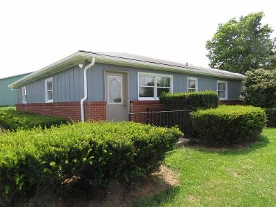 Henry County Single Family Home For Sale: 9705 East State Road 38 Highway