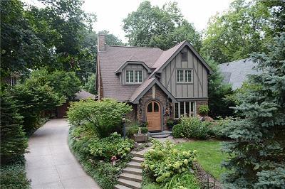 Indianapolis Single Family Home For Sale: 5730 Carrollton Avenue