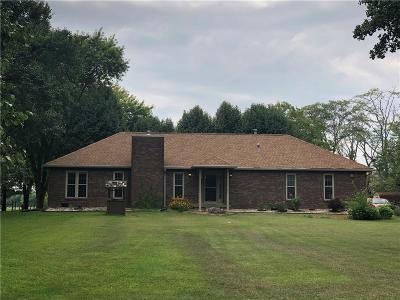 Greenfield Single Family Home For Sale: 1346 North Buck Creek Road