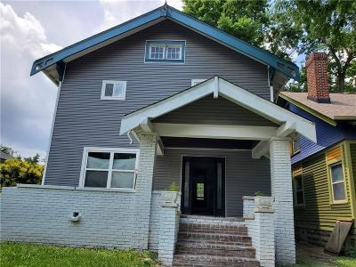 Indianapolis Single Family Home For Sale: 3046 North Park Avenue