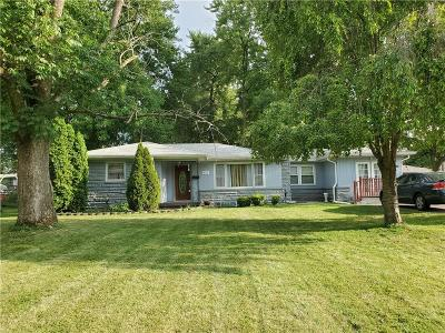 Lawrence Single Family Home For Sale: 6931 Clemdale Avenue