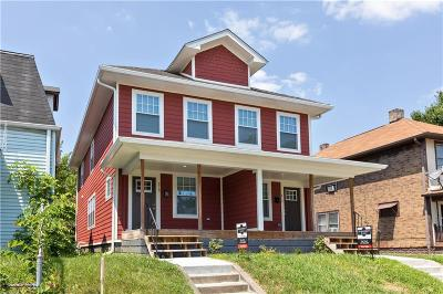 Indianapolis IN Single Family Home For Sale: $129,900