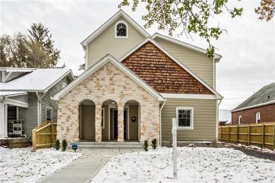 Indianapolis Single Family Home For Sale: 157 Berkley Road