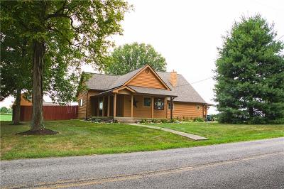 Greenwood Single Family Home For Sale: 1366 South Franklin Road