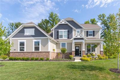 Zionsville Single Family Home For Sale: 3555 Evergreen Way