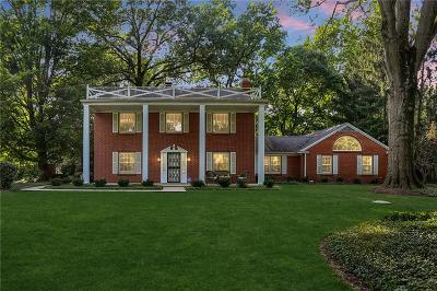 Indianapolis Single Family Home For Sale: 7902 Westfield Boulevard