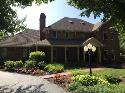Indianapolis Single Family Home For Sale: 2626 Country Club Road