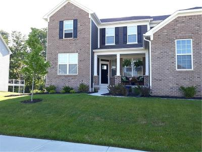 Zionsville Single Family Home For Sale: 3637 Evergreen Way