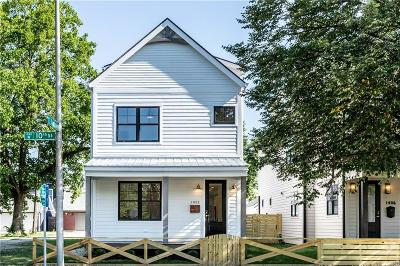 Indianapolis Single Family Home For Sale: 1402 East 10th Street