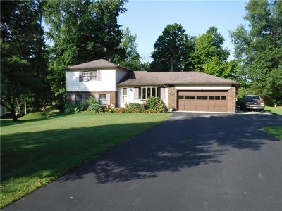 Martinsville Single Family Home For Sale: 1540 South Plateau Circle