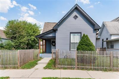 Indianapolis Single Family Home For Sale: 1201 Villa Avenue