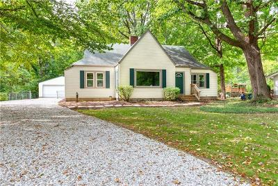 Indianapolis Single Family Home For Sale: 9232 North Delaware Street