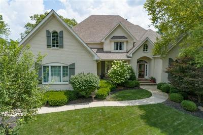 Zionsville Single Family Home For Sale: 4299 Creekside Pass