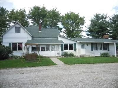 Markleville IN Single Family Home For Sale: $279,000