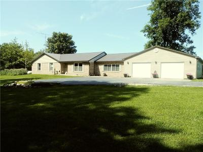 Parke County Single Family Home For Sale: 7699 East Ferndale Road