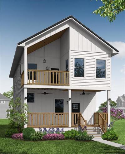Indianapolis Single Family Home For Sale: 1119 Spann Avenue