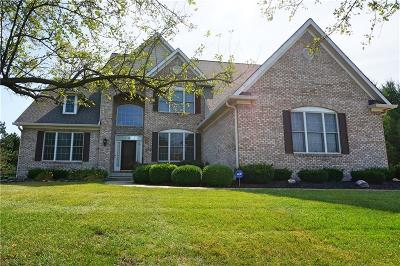Carmel Single Family Home For Sale: 10599 Huntersfield Dr