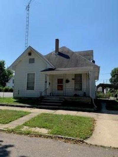 Rushville Single Family Home For Sale: 219 West 5th Street