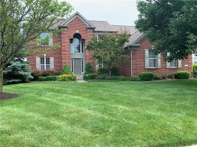 Zionsville Single Family Home For Sale: 3860 Verdure Lane