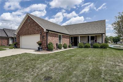 Indianapolis Single Family Home For Sale: 129 West President Trail