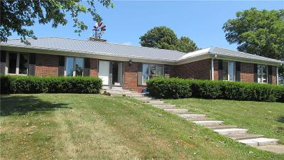 Montgomery County Single Family Home For Sale: 10664 East 450 S.