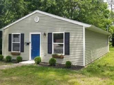 Indianapolis IN Single Family Home For Sale: $94,900