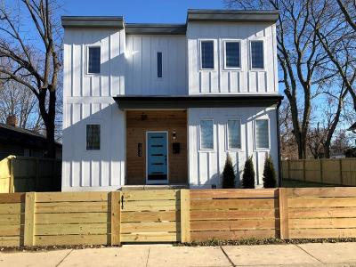 Indianapolis Single Family Home For Sale: 1525 Asbury Street