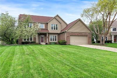 Fishers Single Family Home For Sale: 10224 Valley Ridge Circle