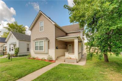 Indianapolis Single Family Home For Sale: 2126 South Delaware Street