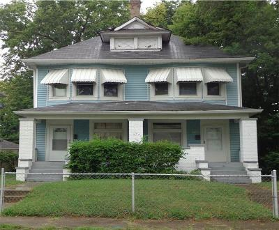 Indianapolis Multi Family Home For Sale: 2907 North New Jersey Street