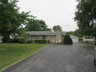 Camby Single Family Home For Sale: 7404 Trotter Road