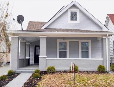 Indianapolis Single Family Home For Sale: 1206 Churchman Avenue