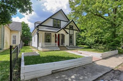 Indianapolis Single Family Home For Sale: 1030 North Hamilton Avenue