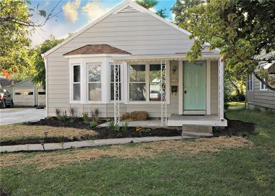 Indianapolis Single Family Home For Auction: 710 North Routiers Avenue